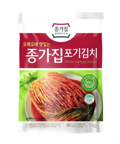 Jonga Whole Cabbage Kimchi, 1 kg