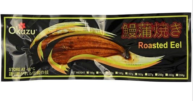 Okazu Roasted Eel, 125 g (장어덮밥용)