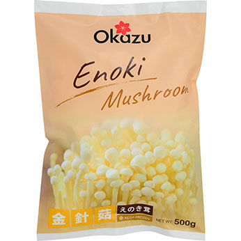 Frozen Enoki Mushroom 500g, 냉동 팽이버섯 500g