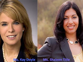 Treasurer, Governor, and Attorney General Appoint Kay Doyle and Shaleen Title to The Cannabis Contro