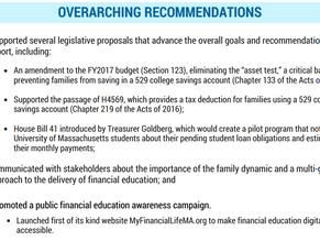 Treasurer Goldberg Releases Progress Report on Financial Literacy Initiatives in Massachusetts