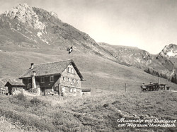 Bergrestaurant Musenalp um 1950