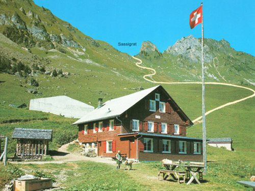 Bergrestaurant Musenalp nach 1963
