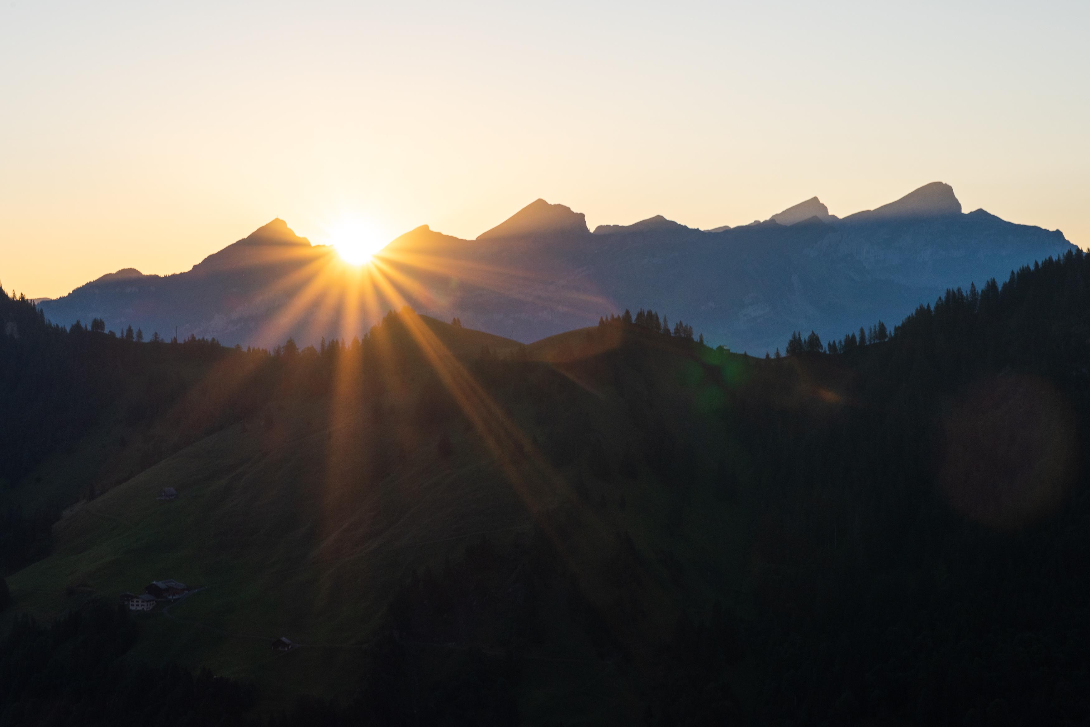 Sonnenaufgang Ebnet