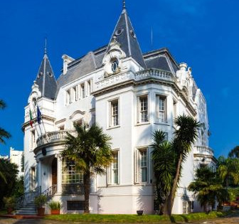 Residencia de la Embajada de Italia en Montevideo