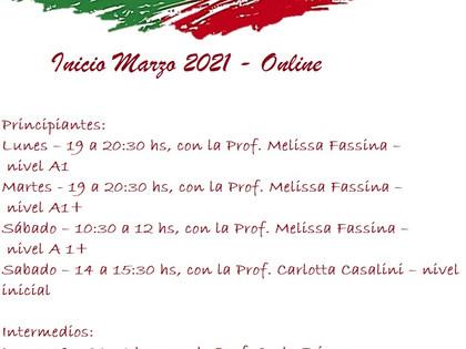 Cursos de Italiano en el Circulo Trentino de Montevideo