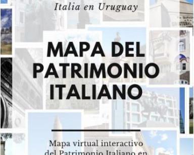 Mapa del Patrimonio Italiano en Uruguay