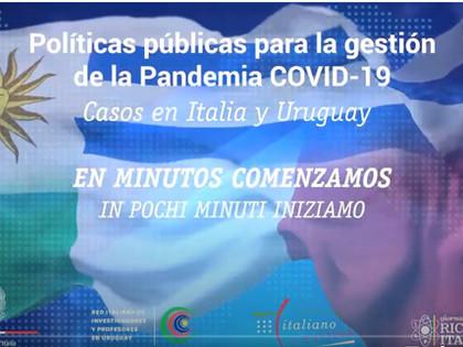 POLITICHE PUBBLICHE PER LA GESTIONE DELLA PANDEMIA COVID-19: I CASI DI ITALIA E URUGUAY