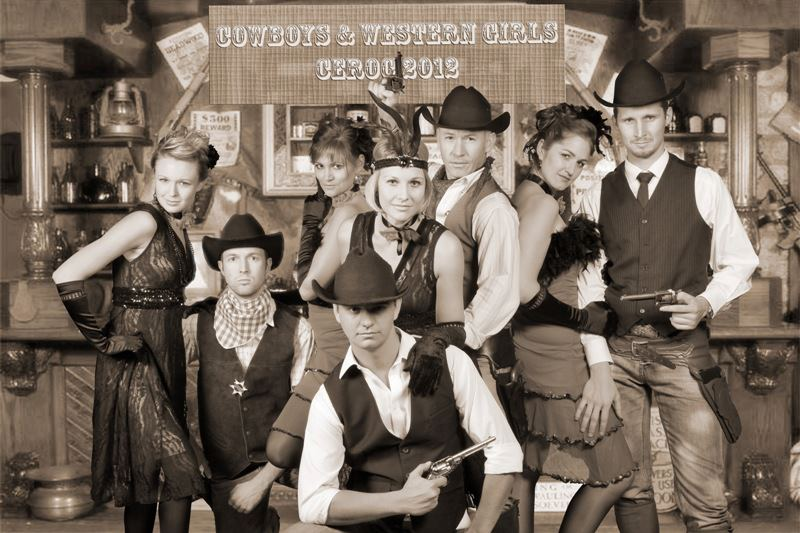 Cowboys &Saloon Girls
