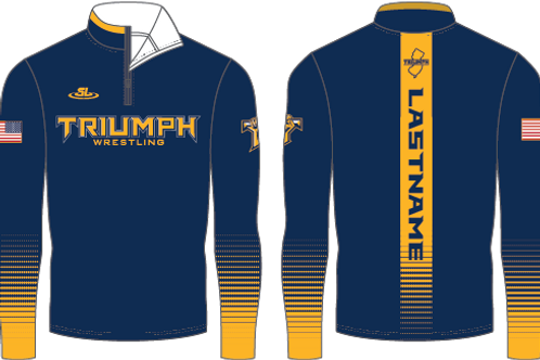 Triumph Sublimated1/4 Zip