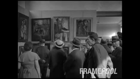 Hitler's Degenerate Art exhibition opened July 19, 1937.