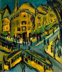 Deutsch: Nollendorfplatz (1912), Ernst Ludwig Kirchner