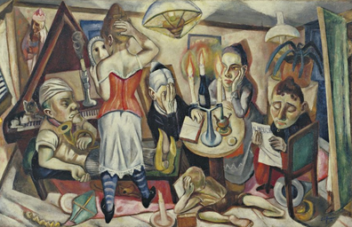 Family Picture (1920), Max Beckmann