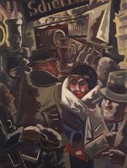 Berlin Street, 1931, George Grosz