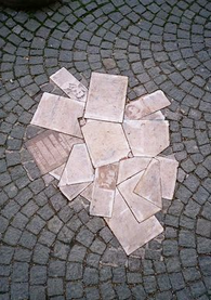 The Weisse Rose Pavement Memorial in Munich