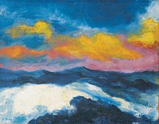 High Sea (1948), Emil Nolde