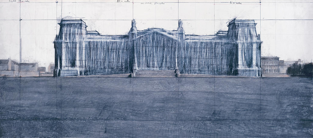 Christo and Jeanne-Claude Wrap the Reichstag