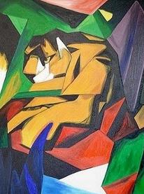 Tiger (1912) Franz Marc