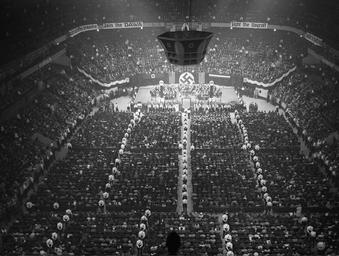 Nazis in Madison Square Garden 1934-1939