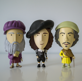 Old Master action figures now available!