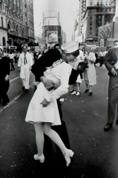 Alfred Eisenstaedt took this iconic photo...