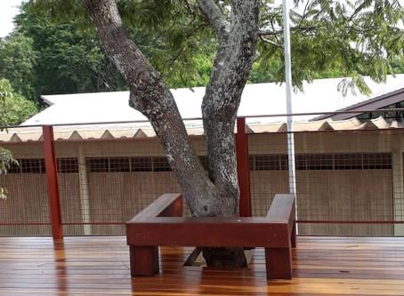 Concluída a reforma do Deck da Piscina