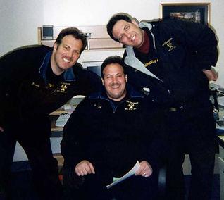Bruce, Todd and Mark at work