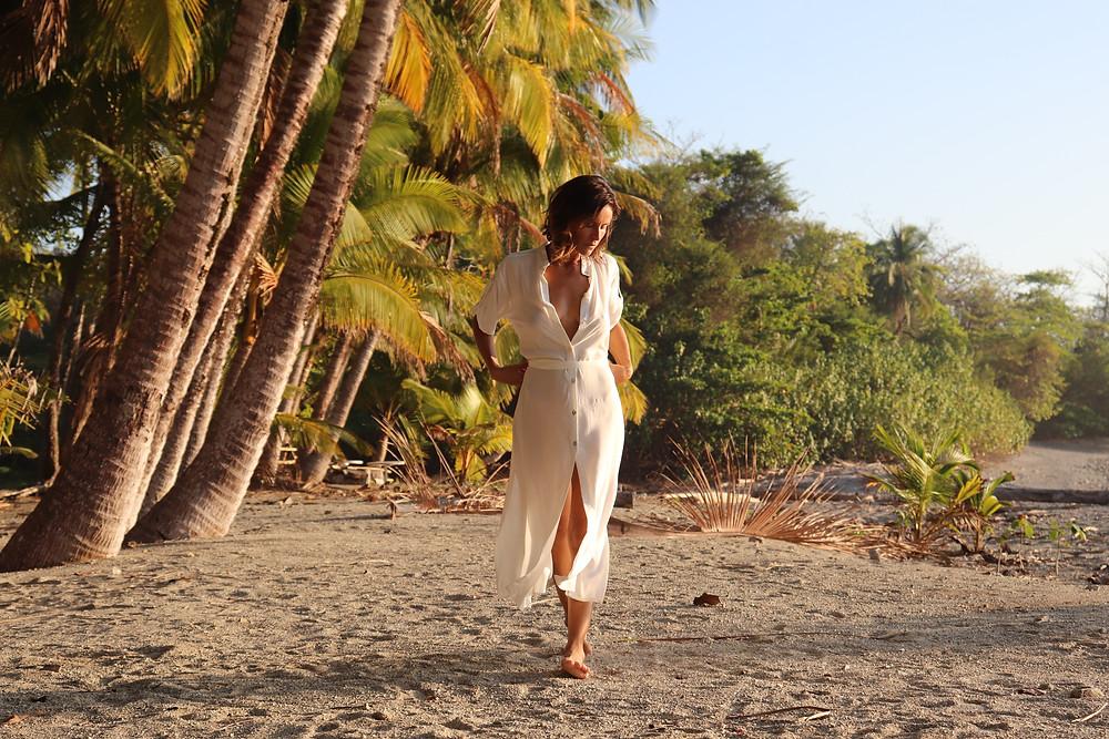Vestidos de playa y vestidos de ciudad Fibra Nomada Moda Sustentable