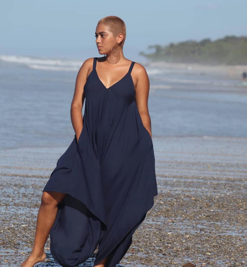 jumpsuit julieta fibra nomada slow fashion dress