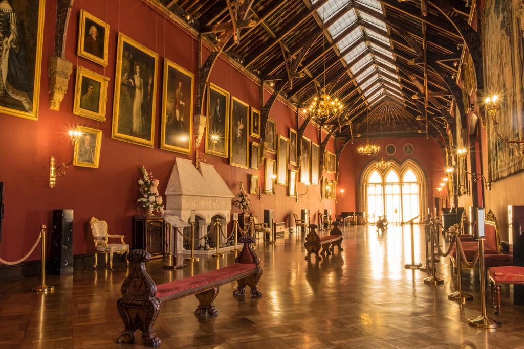 Long gallery in Kilkenny Castle