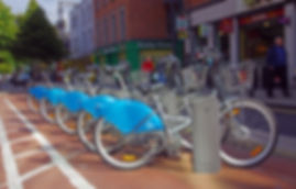 a dublinbikes station in dublin