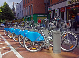 Dublin bikes. An easy way to get around the capital