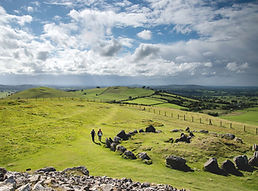 loughcrew stone circle and landscape