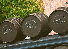 Jameson whsikey barrels