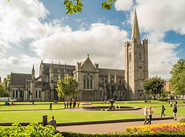 St Patrick's Cathdral in the sun