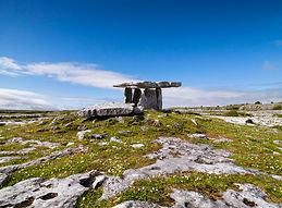 Poulnabrone Dolmen in The Burren near Galway