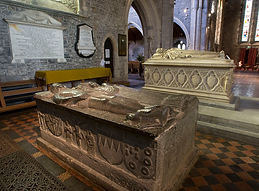 tombs and effigies in St Canice's Cathedral, Kilkenny