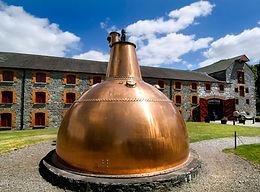 Huge pot stil at Jameson Distillery Midleton