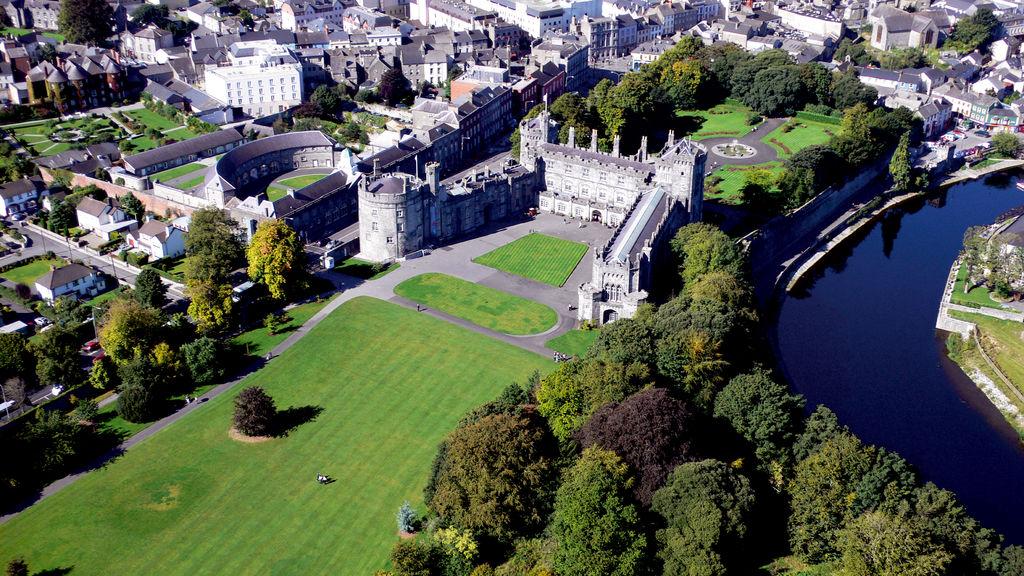 Bird's eye view of Kilkenny Castle