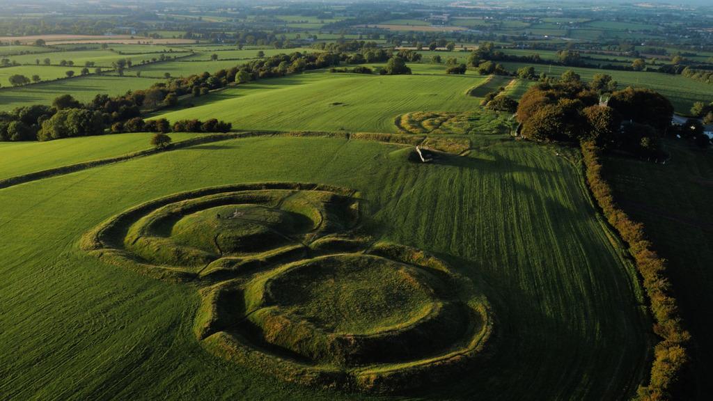 Hill of Tara Aerial