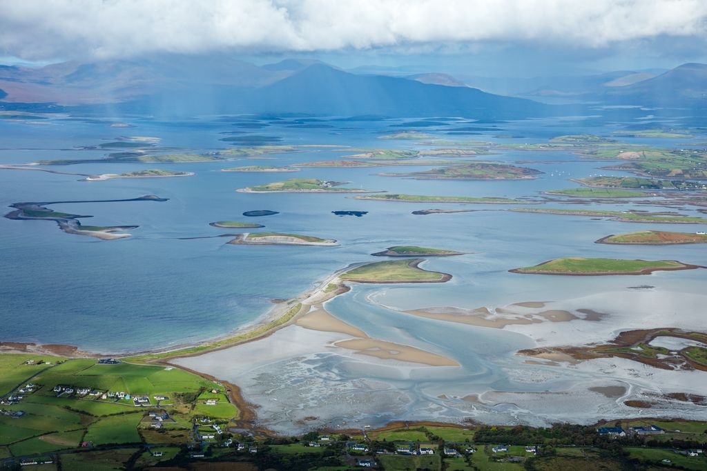 Clew Bay with Croagh Patrick