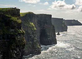Cliffs of Moher and Atlantic Ocean