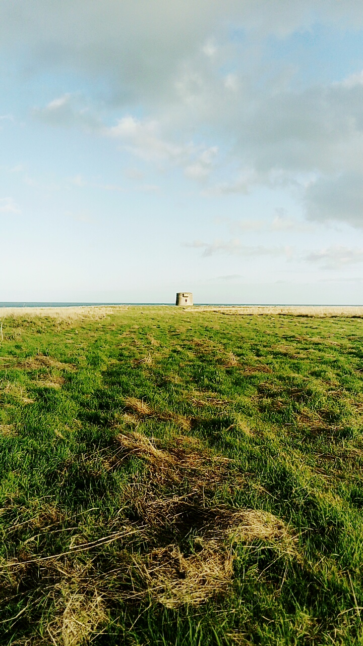 Martello Tower on Loughshinny Head