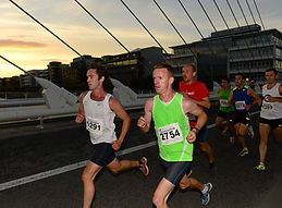 running across a bridge in Dublin in GT5K