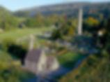 Round tower at Glendalough