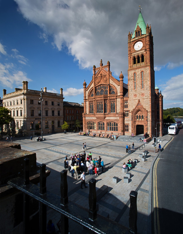 Guildhall in Derry / Londonderry