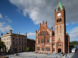 redbrick Guildhall in Derry / Londonderry