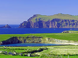 Green, blue and grey of the Ring of Kerry
