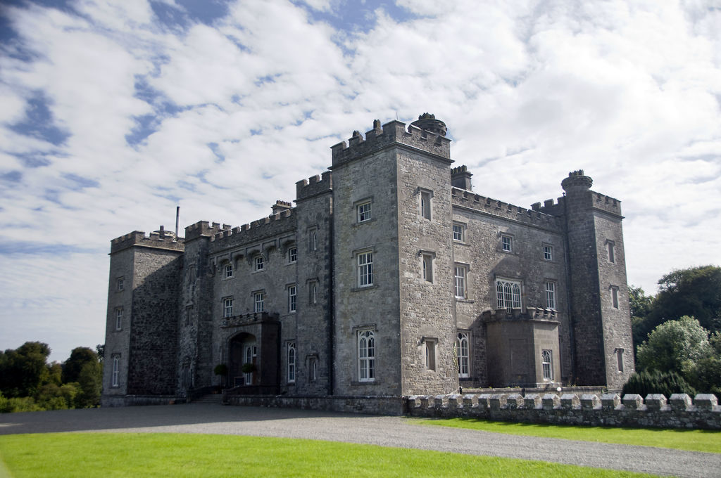 Slane Castle from an angle
