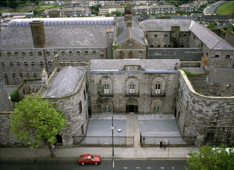 Aerial view of Kilmainham Gaol